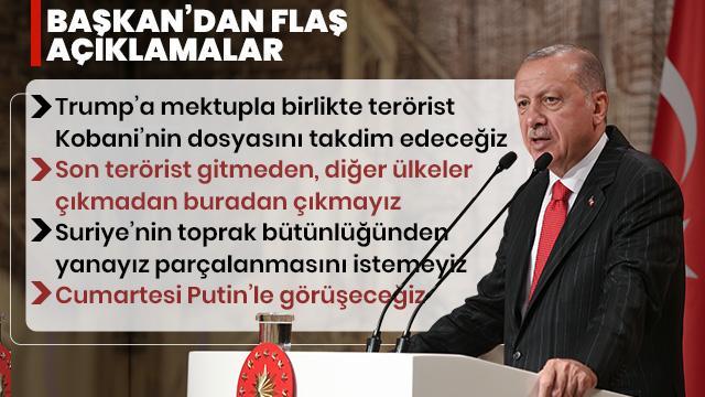 Başkan Erdoğan'dan flaş açıklamalar