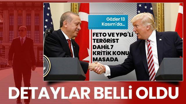 Cumhurbaşkanlığı'ndan flaş 'ABD ziyareti' açıklaması! Detaylar belli oldu