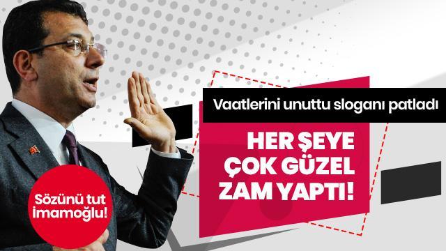 İstanbul'da su zammına tepki: İmamoğlu verdiği sözü tutmalı