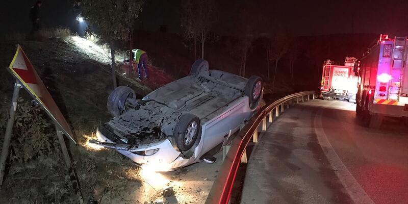İstanbul'da trafik kazası: 2 yaralı