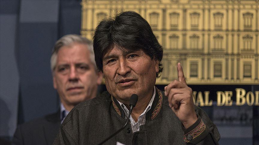 ABD'nin 'darbeci geçmişini' Trump'ın yüzüne vuran Morales