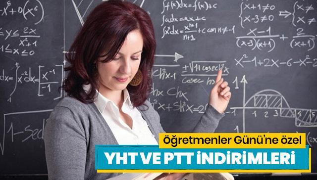 Öğretmenler Günü indirimleri neler? Öğretmenlere özel ulaşım ve PTT indirimleri haberimizde