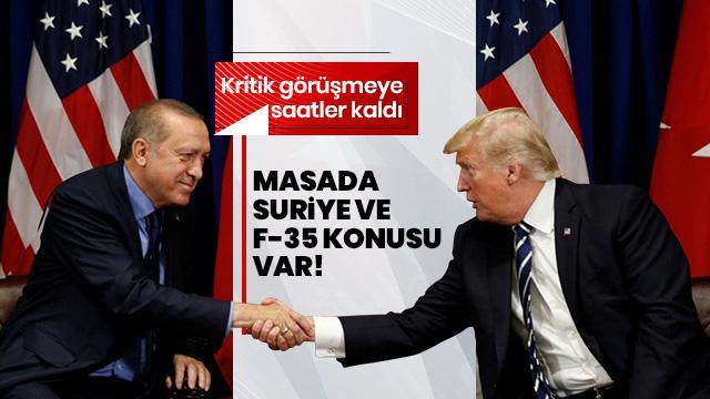 Başkan Erdoğan ve Trump arasındaki kritik görüşme