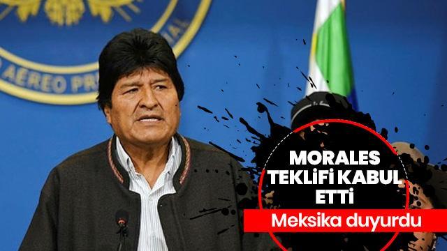 Evo Morales Bolivya'dan ayrılıyor