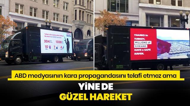 Başkan Erdoğan'ın ziyareti öncesi Türkiye'nin DEAŞ ile mücadelesi Washington sokaklarında