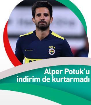 Alper Potuk yeni kontratında büyük bir indirime gitmesine rağmen gönderilecekler listesine eklendi