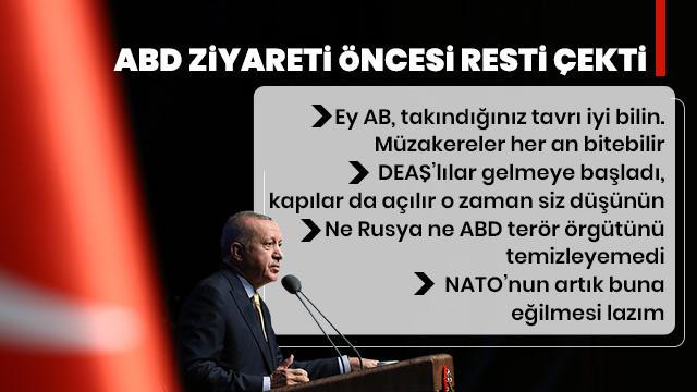 Başkan Erdoğan canlı yayında açıkladı! Büyük rest!