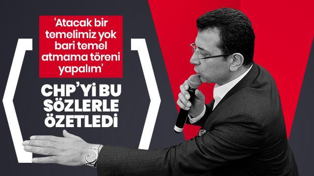 "AK Parti'den CHP'nin ""Temel Atmama Töreni"" şovuna çok sert tepki"