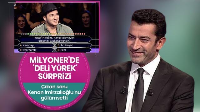 Kim Milyoner Olmak İster'de Kenan İmirzalıoğlu'na 'Yusuf Miroğlu' sürprizi
