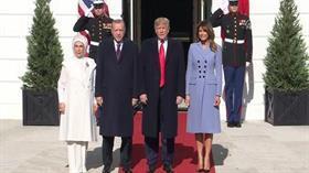 Başkan Erdoğan ile Trump görüşmesi sona erdi