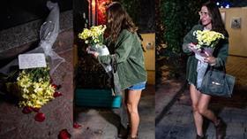 Ölen eski İngiliz istihbarat subayının ofisinin önüne gelip çiçek bıraktı! Dikkat çeken not...