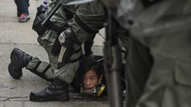 Çin İrtibat Ofisi Hong Kong'taki protestolara daha sert müdahale edilmesini istedi