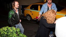 Ertan Saban sarışın bir bayanla fena yakalandı! Saat 05:30 yer Cihangir