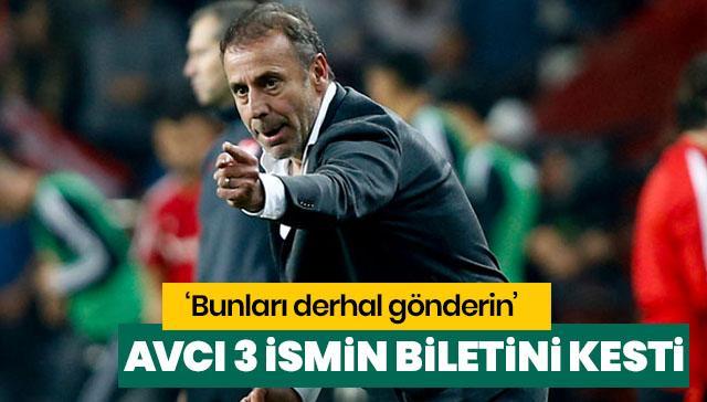 Beşiktaş'ta 3 yıldız gönderiliyor!