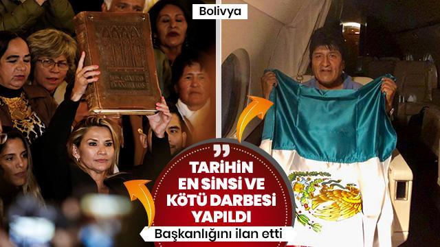 Bolivya'da geçici devlet başkanı belli oldu