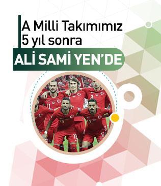 Milli takım 5 yıl sonra Ali Sami Yen'de