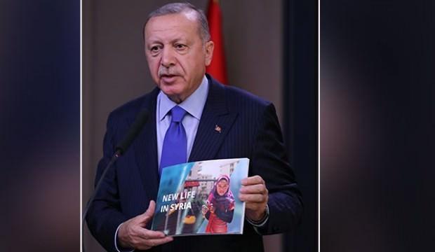 Başkan Erdoğan, Trump'a bu kitabı götürdü