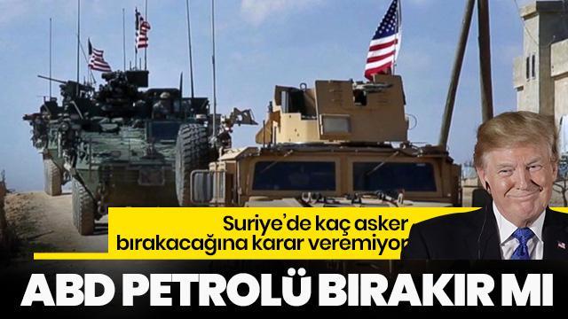 ABD, Suriye'de kaç asker bırakacağına karar veremiyor