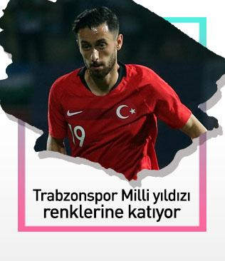 Trabzonspor Milli yıldızı kadrosuna katıyor