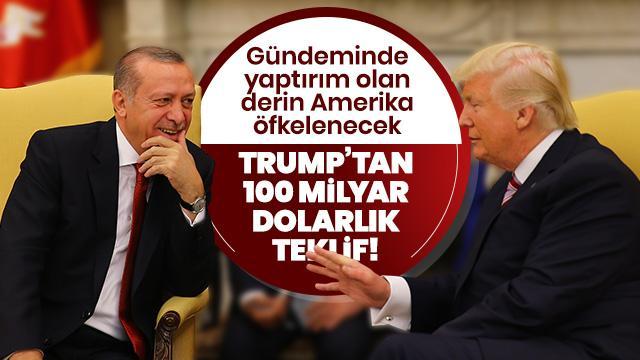 WP: Trump, Başkan Erdoğan'a 100 milyar dolarlık ticaret anlaşması teklif edecek