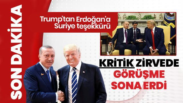 Başkan Erdoğan ile Trump görüşmesi başladı! İşte ilk açıklama