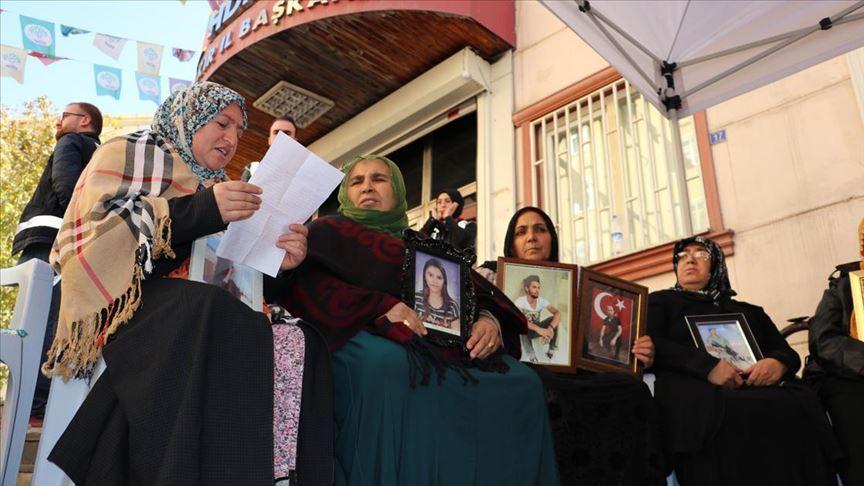 Teslim olan terörist Diyarbakır annelerine yazdığı mektupla destek verdi