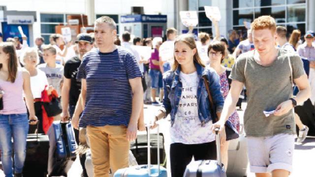 Alman turistte rekor yolda