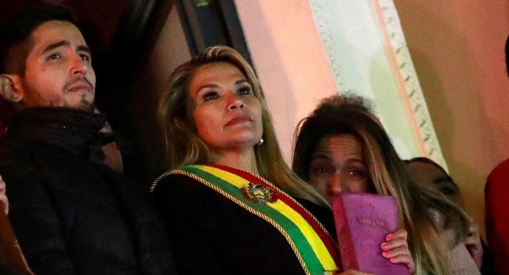 ABD'den Bolivyalı Senatör Anez'e tebrik
