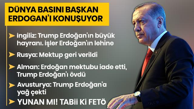 Dünya basını Başkan Erdoğan'ın ABD ziyaretini konuşuyor: Kazanan Türkiye