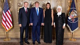 Trump, Başkan Erdoğan'ın ziyareti esnasındaki aile fotoğrafını 'Çok güzeldi' yazıp paylaştı