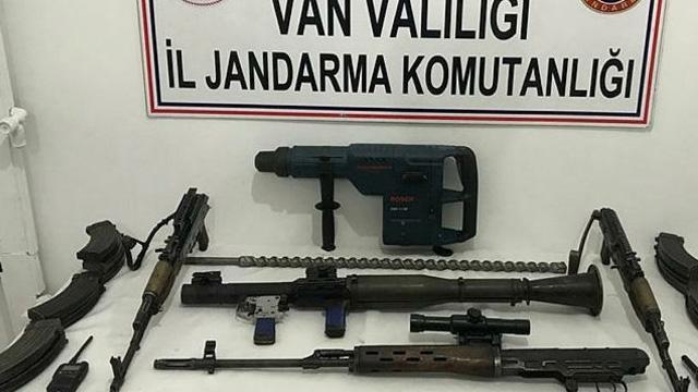 Kıran-6'da PKK'ya ait silah ve mühimmat ele geçirildi