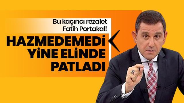 Bu kaçıncı rezalet Fatih Portakal!