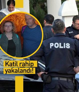 Cinayet zanlısı katil rahip yakalandı