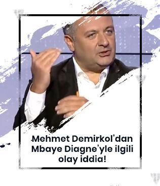 Mehmet Demirkol'dan Mbaye Diagne iddiası: Galatasaray devre arasında geri çağırabilir
