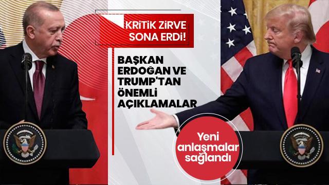 Başkan Erdoğan, Trump'ın gönderdiği mektupla ilgili: Mektupları bugün Sayın Başkan'a tekrar takdim ettim