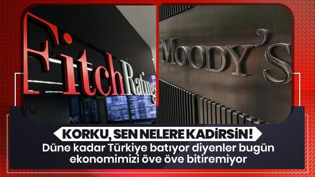 Fitch'in ardından Moody's'ten de flaş Türkiye açıklaması