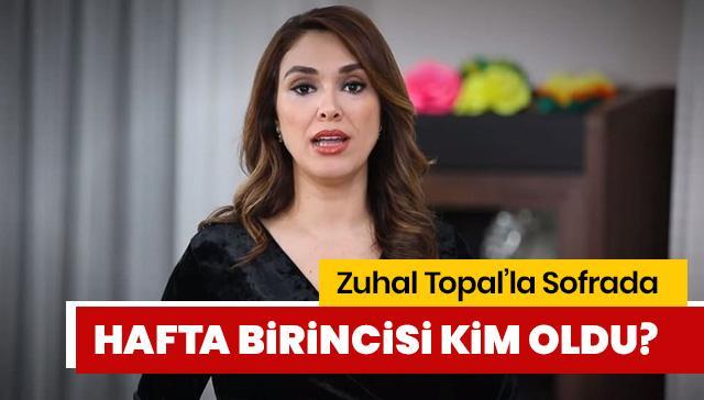 Zuhal Topal'la Sofra'da hafta birincisi kim? 15 Kasım Zuhal Topal'la Sofra'da kim birinci oldu?