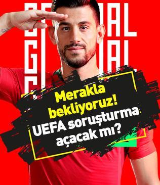 UEFA soruşturma açacak mı? Portekiz, Pizzi'nin golünü asker selamı fotoğrafıyla anons etti