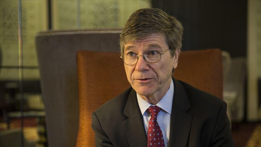 ABD'li ekonomist Jeffrey Sachs'tan 'Türkiye'nin küresel refah için önemine' vurgu