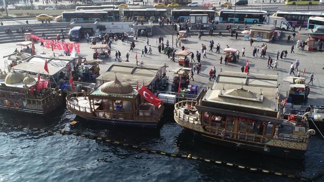İBB, balık ekmekçilerin tahliyesini bekletme kararı almış