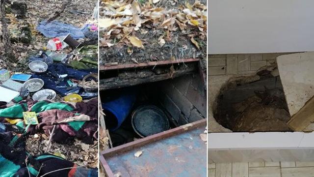 'Kıran-5' operasyonunda sığınaklar bulundu, tonlarca uyuşturucu ele geçirildi