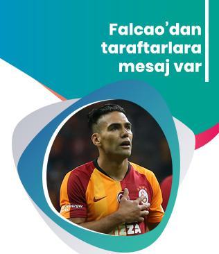 Radamel Falcao'dan mesaj var: Taraftarları çok üzdüm, onları gollerimle mutlu edeceğim