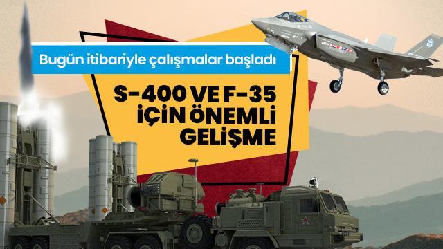 Türkiye'den çok önemli S-400 ve F-35 açıklaması: Bugün itibariyle çalışmalara başladı