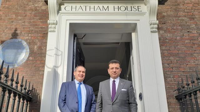 Ekrem İmamoğlu, Londra'da Sykes Picot ve Sevr'i yazan Chatham House'u niye ziyaret etti?