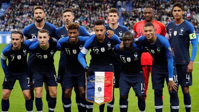 Moldova'yı yenen Fransa grubun yeni lideri oldu