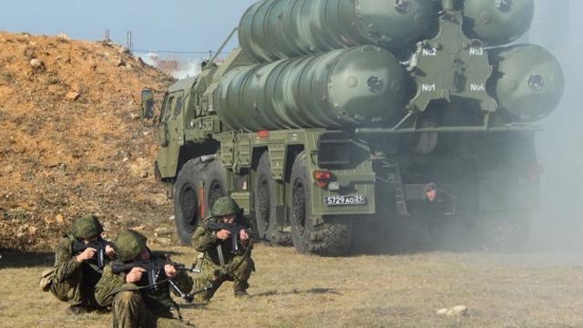 Rusya Kırım'da S-400'ler ile tatbikat yaptı