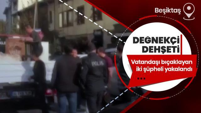 Valeci dehşeti! Vatandaşı bıçaklayan iki şüpheli yakalandı