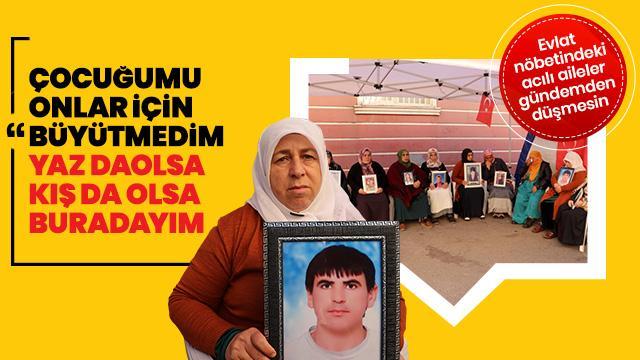 Diyarbakır annelerinin 'evlat nöbeti' sürüyor