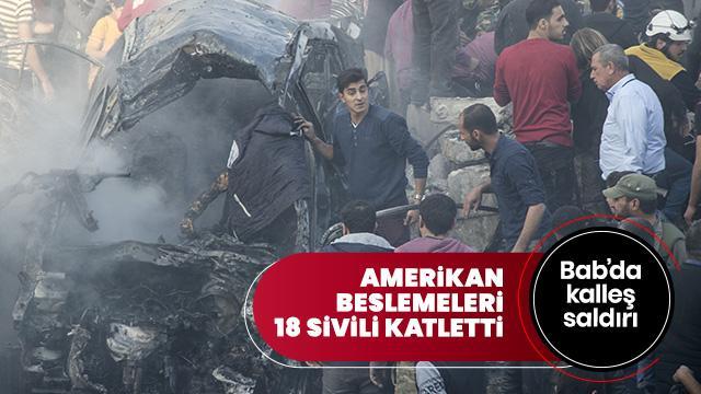 YPG/PKK'lı teröristler yine sivilleri hedef aldı: 18 ölü