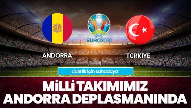Andorra-Türkiye İLK 11'LER